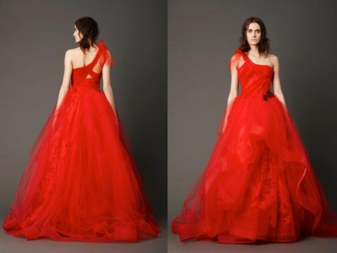 vera wang spring 2013 wedding dress