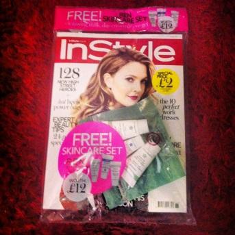 instyle magazine november 2013