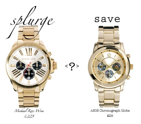 splurge or save michael kors wren