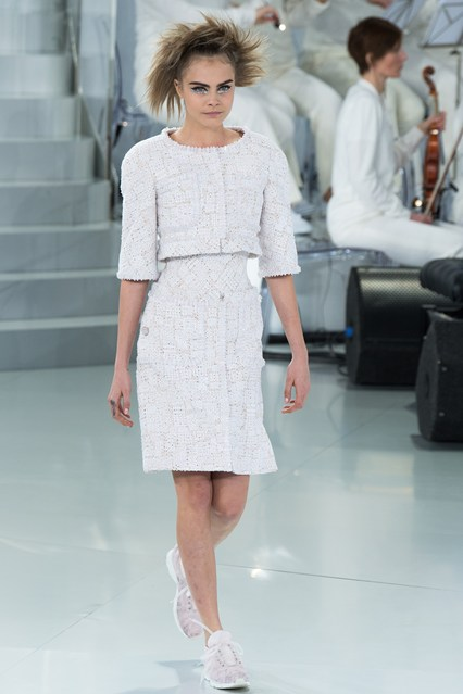 chanel couture spring summer 2014 chanel tweed jacket