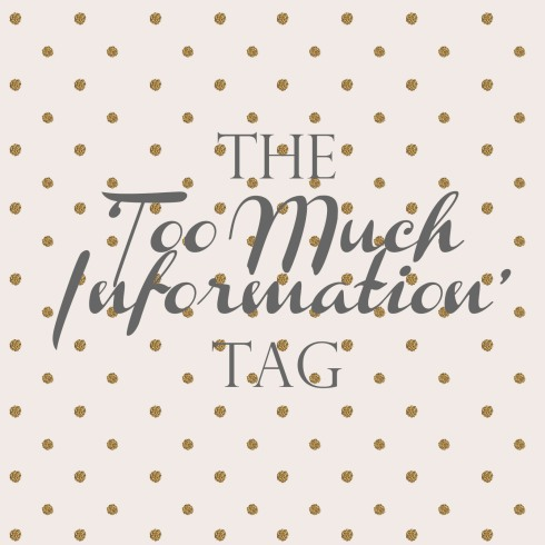 blogger too much information tag